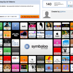 screenshot of LES Art Symbaloo