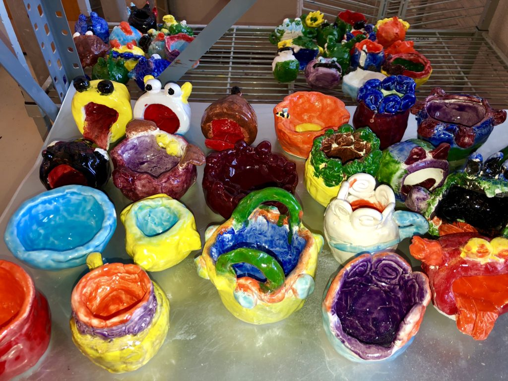 photo of clay projects